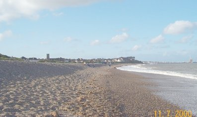 Looking towards Lowestoft